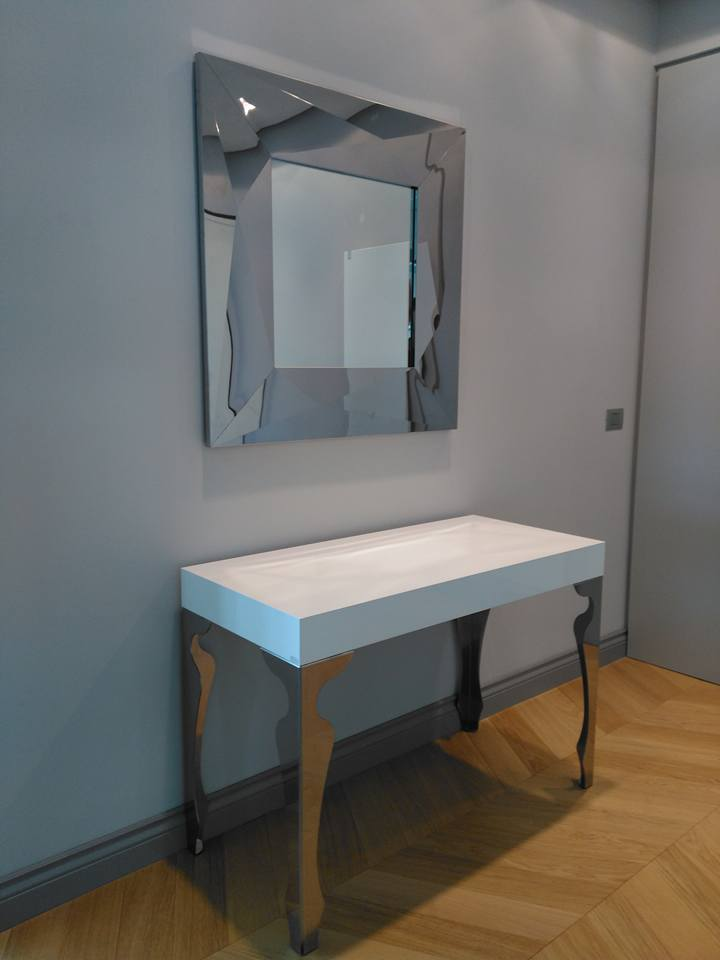 Consolle - tavolino allungabile RIFLESSI