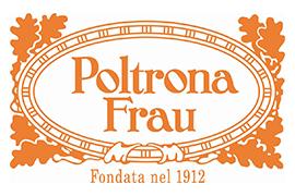 Il logo dell'azienda Poltrona Frau